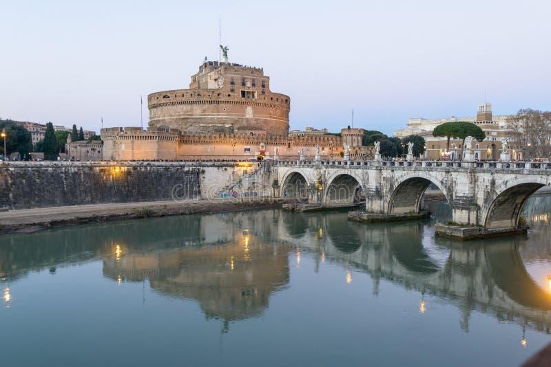 Castel Sant ` Angelo in Rome stock fotografie