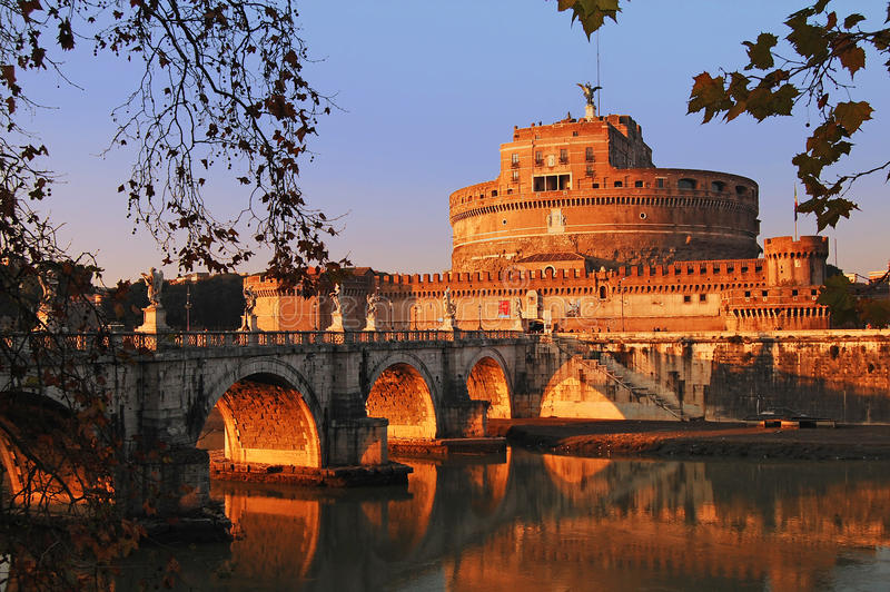 Castel Sant'Angelo, Rome images stock