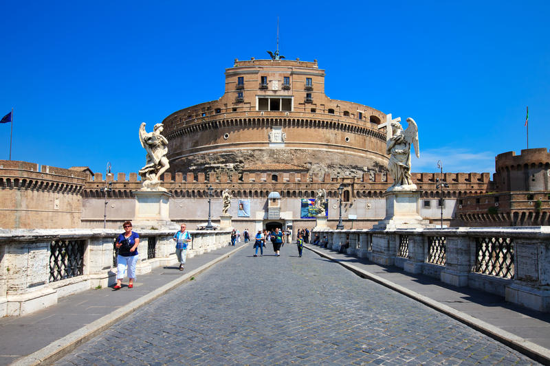 Castel Sant Angelo - Rome Editorial Image