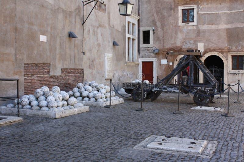 Castel Sant ` Angelo, Rome stock foto's