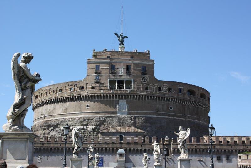 Castel Sant ` Angelo, Rome royalty-vrije stock afbeeldingen