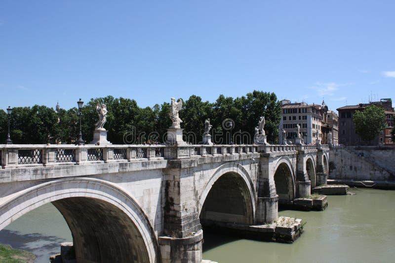 Castel Sant ` Angelo, Rome stock afbeeldingen