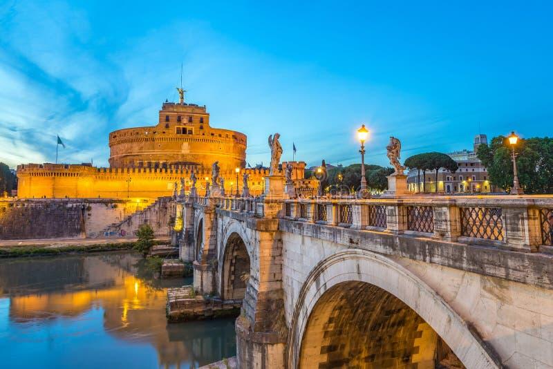 Castel Sant Angelo, Rome, Italië royalty-vrije stock afbeelding