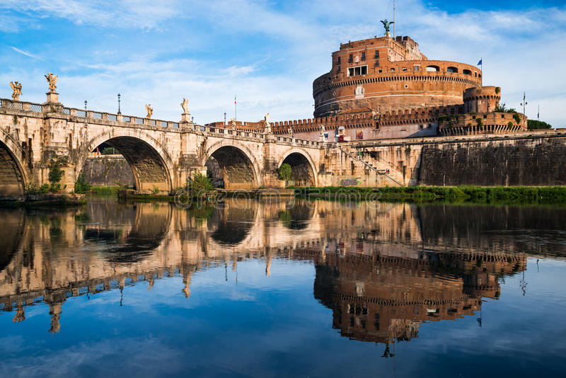 Castel Sant Angelo, Rome, Italie photo stock