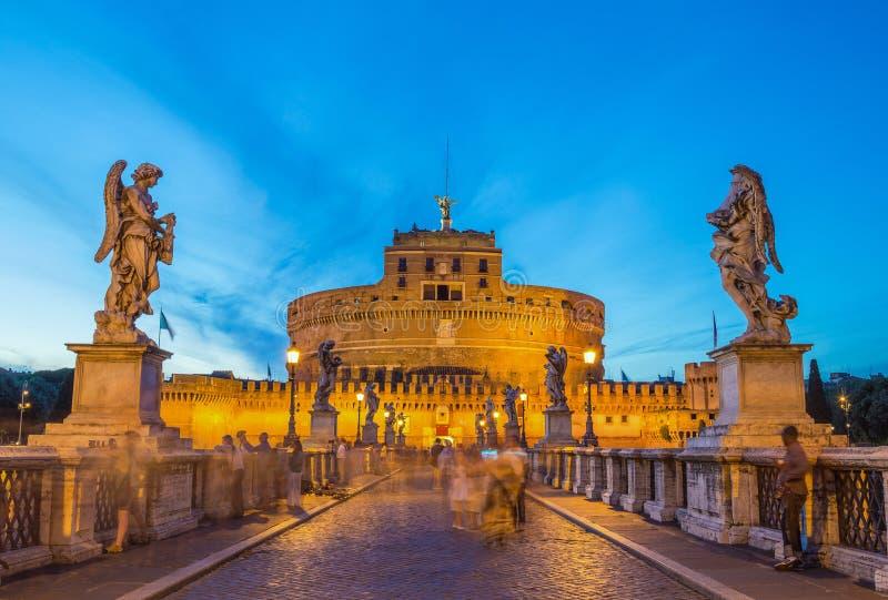 Castel Sant ' Angelo - Rome - Italie image libre de droits