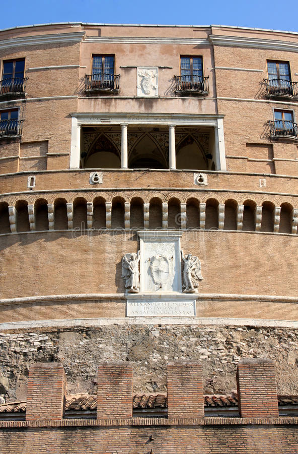Download Castel Sant' Angelo In Rome, Italy Stock Photo - Image: 16143820