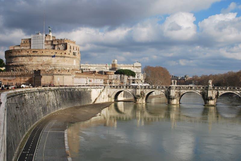 Castel Sant-` Angelo Rome Italy lizenzfreies stockfoto
