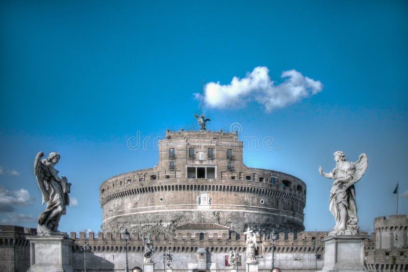 Castel Sant y x27; Ángel, Roma, Italia imagenes de archivo