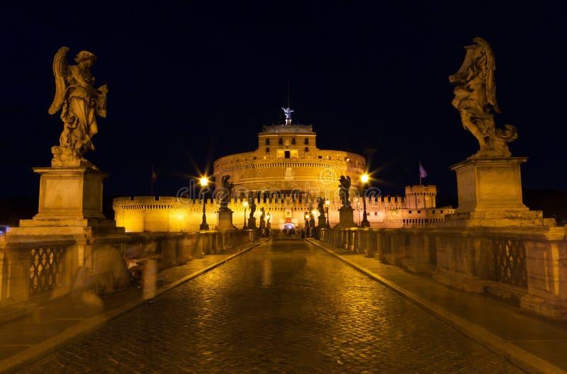 Castel Santangelo en Roma fotografía de archivo