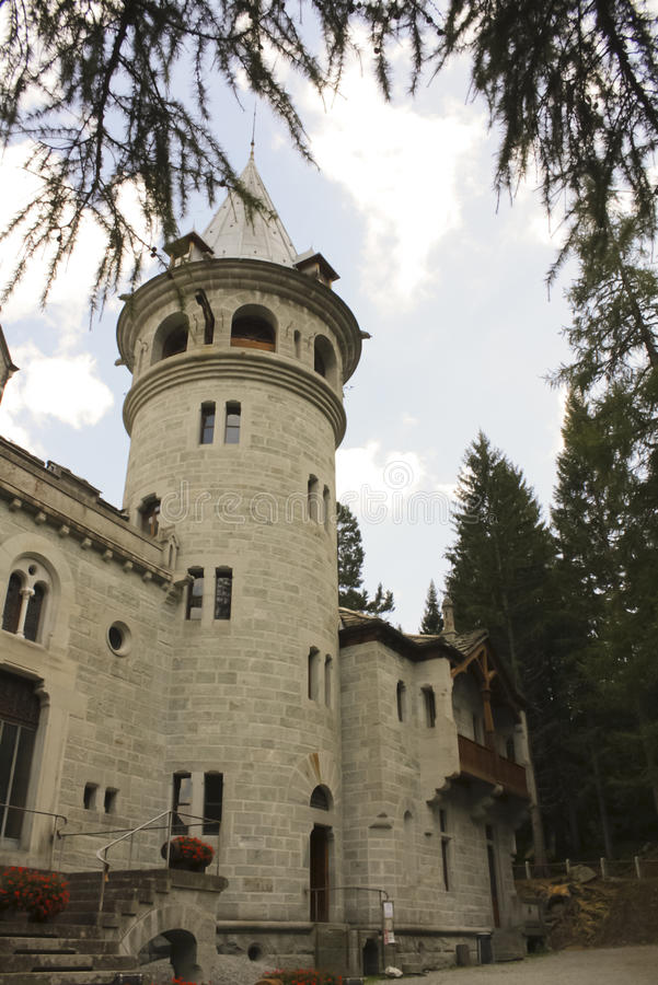 163_ Castel Savoia image stock