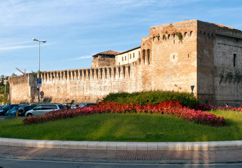 Castel Sismondo royalty free stock photography