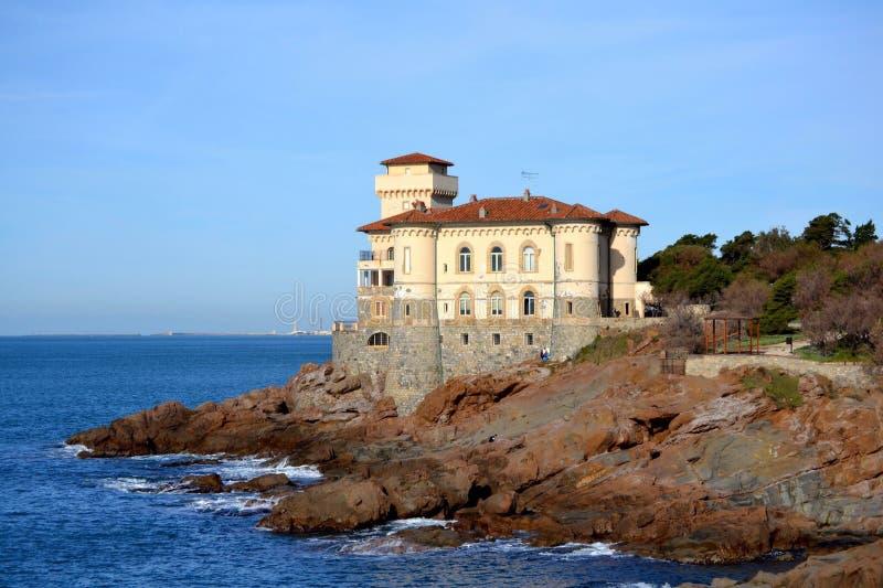 Castel Sonnino fotografia stock