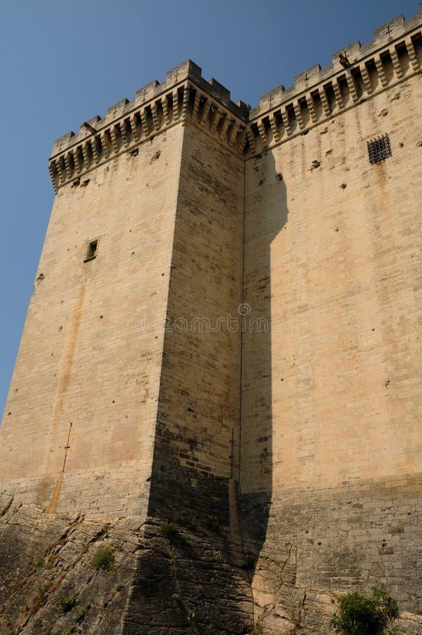 Castel van Tarascon royalty-vrije stock foto's