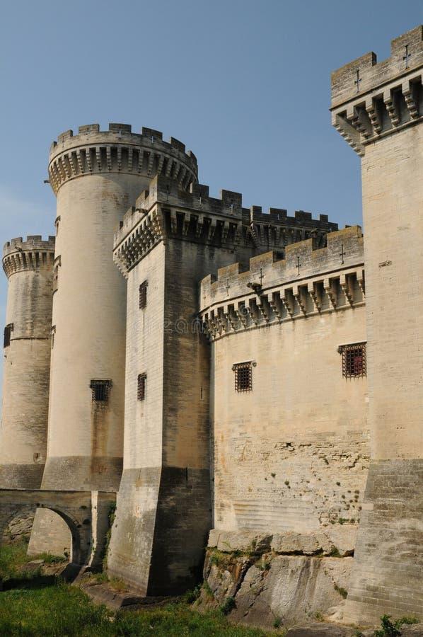 Castel van Tarascon stock afbeeldingen