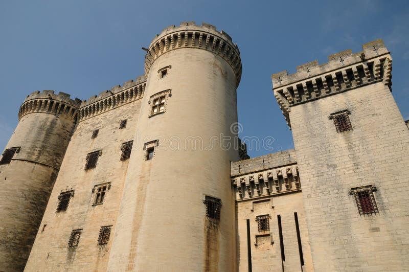 Castel van Tarascon royalty-vrije stock afbeelding