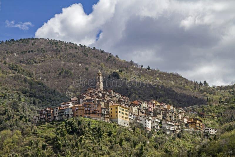 Castel Vittorio royalty-vrije stock afbeeldingen
