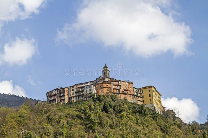 Castel Vittorio royalty-vrije stock foto