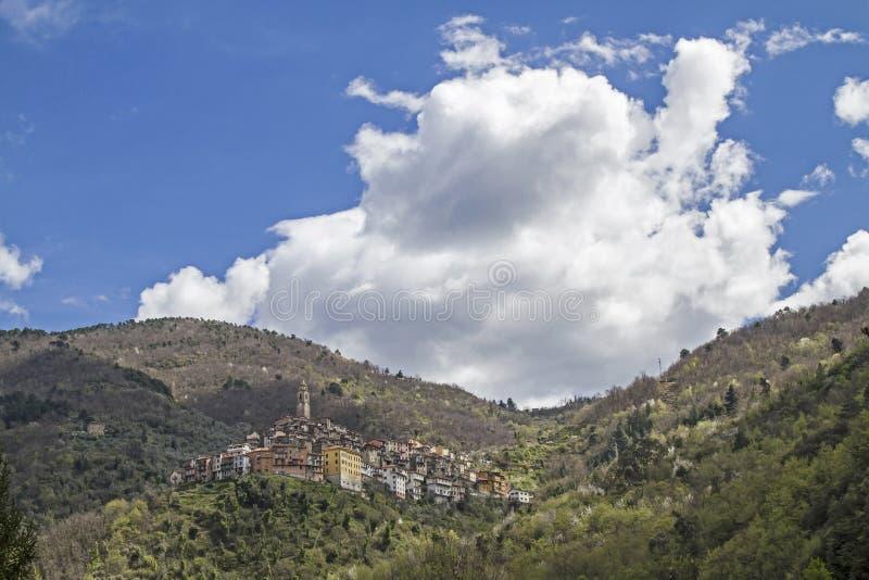 Castel Vittorio stock fotografie