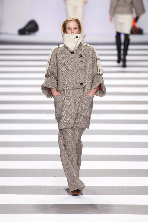 castelbajac charles de mode jeanparis vecka arkivbild