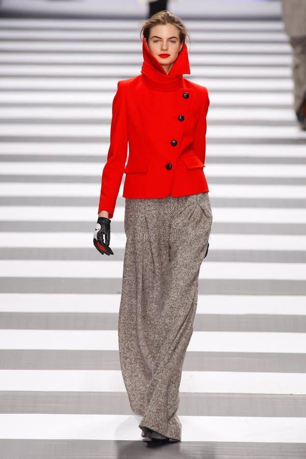castelbajac charles de mode jeanparis vecka royaltyfria bilder