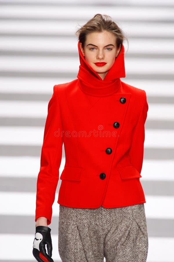 castelbajac charles de mode jeanparis vecka royaltyfri fotografi