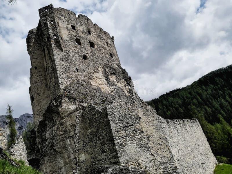 Castelen royaltyfria bilder