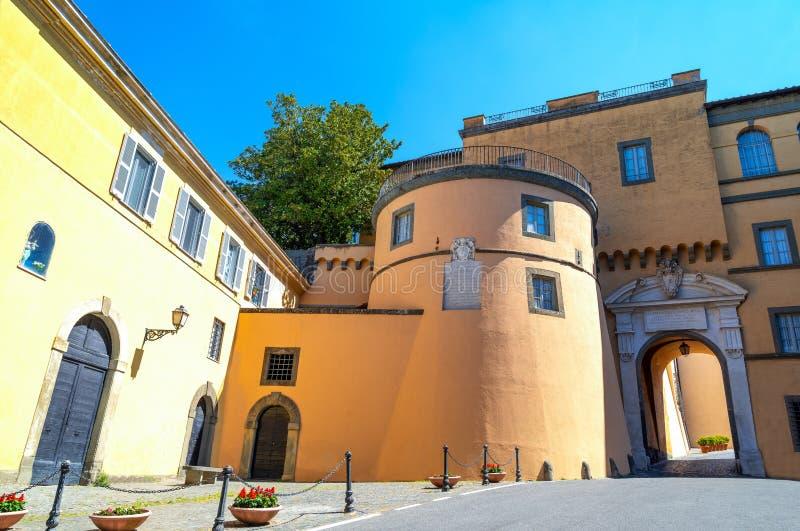 Castelgandolfo, el palacio papal fotos de archivo libres de regalías