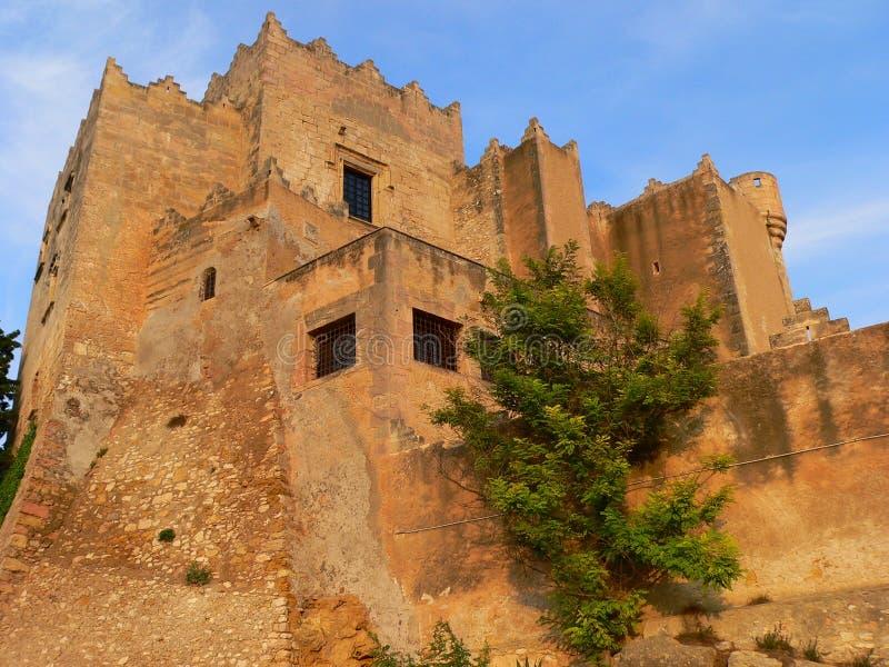 Castell, Altafulla (Spain ) Royalty Free Stock Images