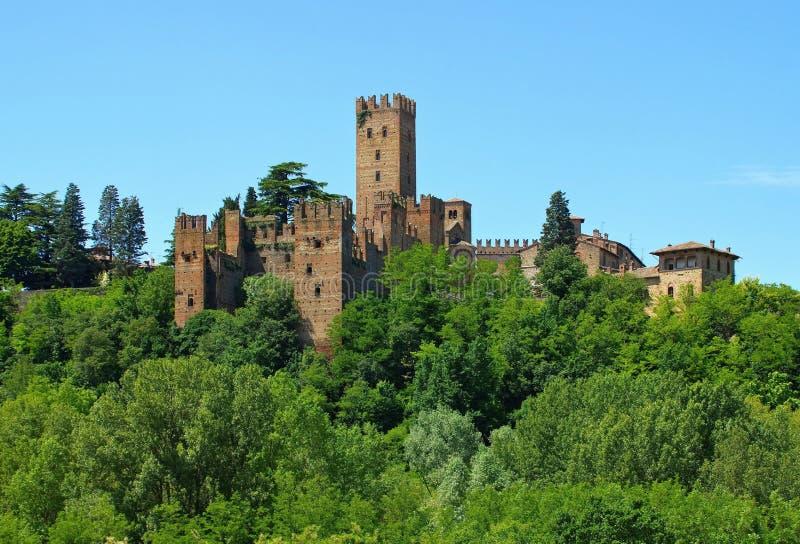 Castell Arquato fotografia stock