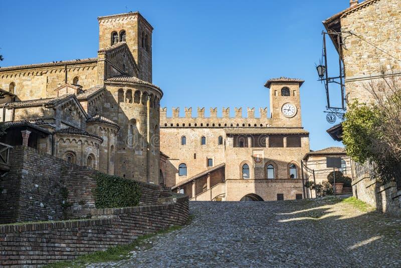 Castell'Arquato imagenes de archivo
