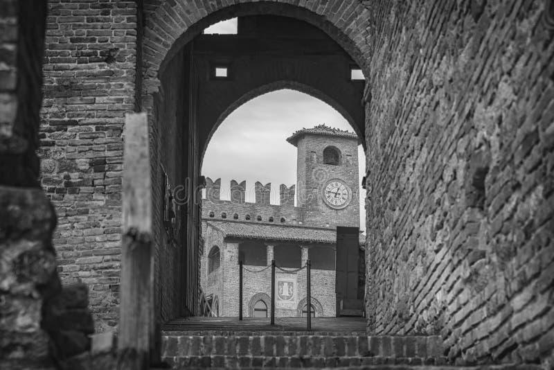 Castell'Arquato fotografie stock