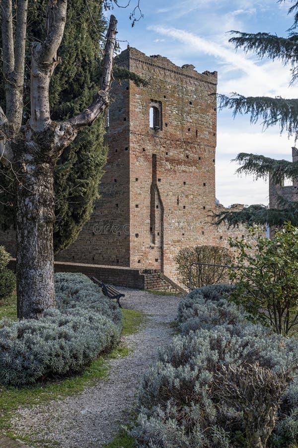 Castell'Arquato immagine stock