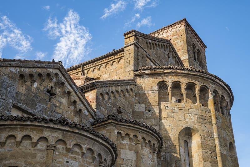 Castell'Arquato fotografia stock libera da diritti
