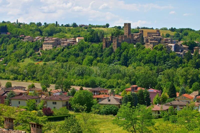 Castell Arquato royalty free stock photo