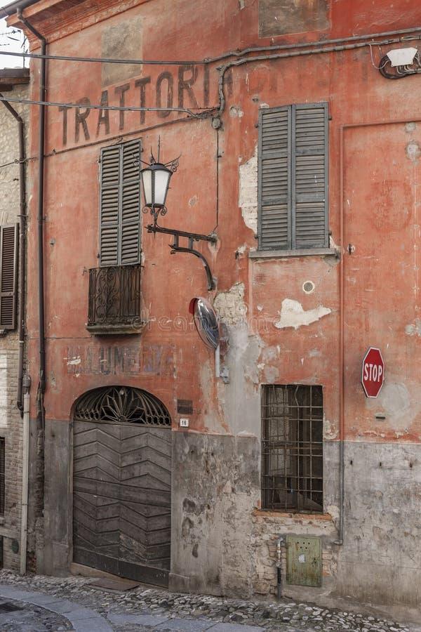 Castell Arquato, Piacenza Province, Italy royalty free stock image