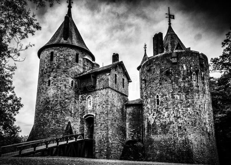 Castell coch zdjęcia royalty free