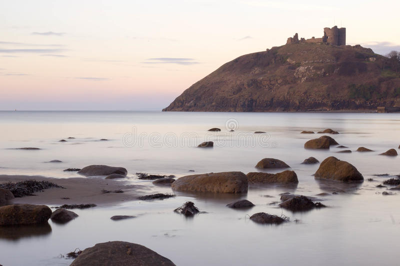 Castell criceth Wales royalty free stock photo