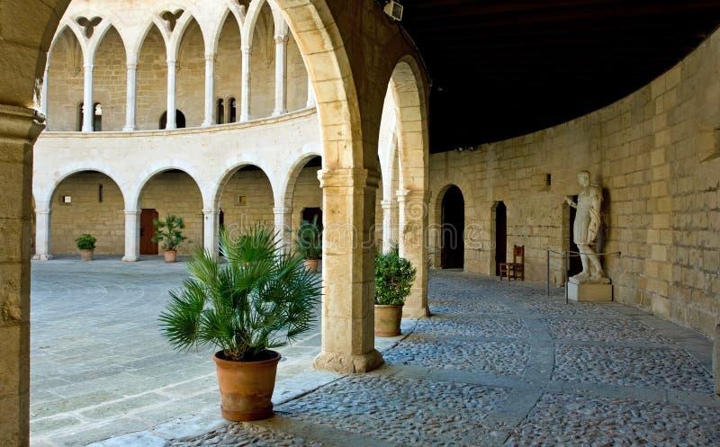 Castell de Bellver fotografía de archivo