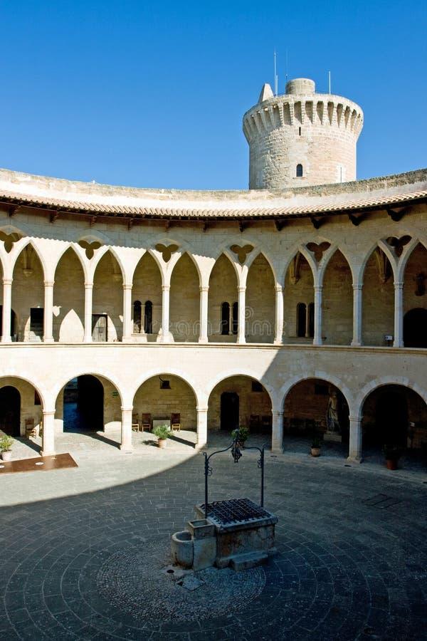 Castell DE Bellver royalty-vrije stock foto