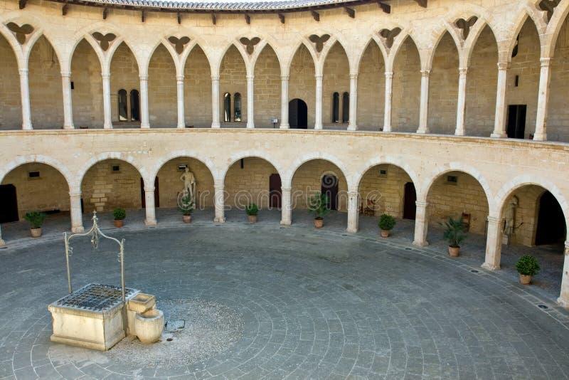 Castell DE Bellver stock fotografie