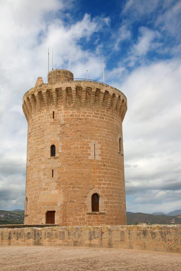 Castell DE Bellver stock foto