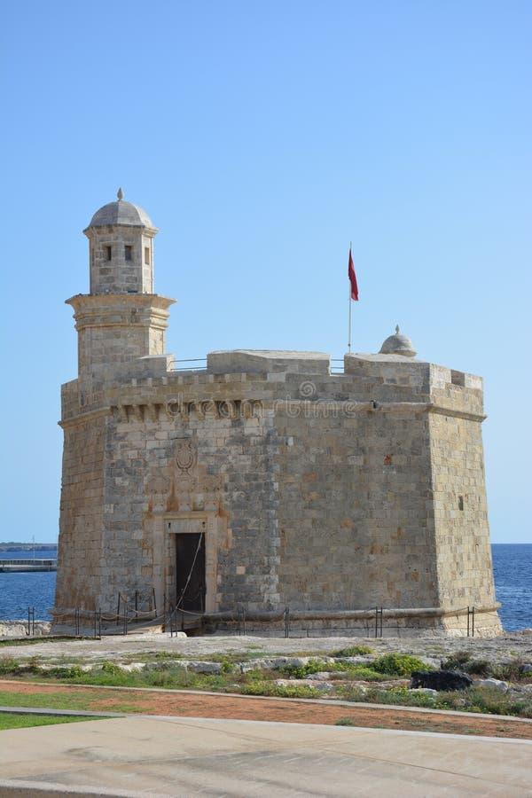 Castell Sant Nicolau imagenes de archivo