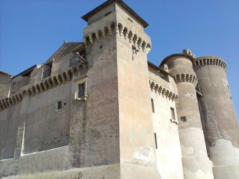 castell santosevero arkivfoto