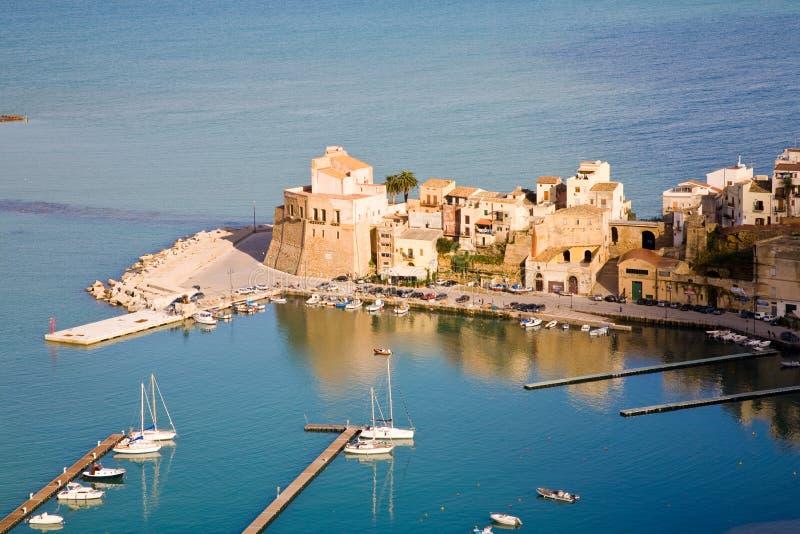 Castellammare Del Golfo, Sicily, Italy Royalty Free Stock Images