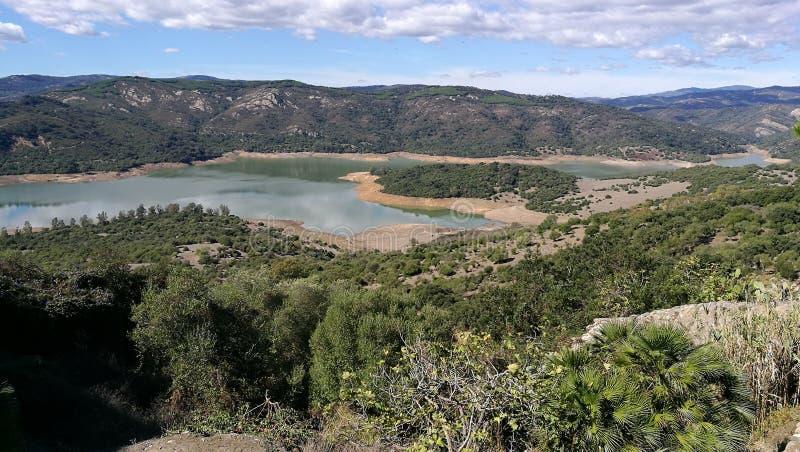 Castellar de los angeles Frontera obrazy royalty free