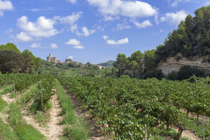 Castellet, Catalogne, Espagne image stock