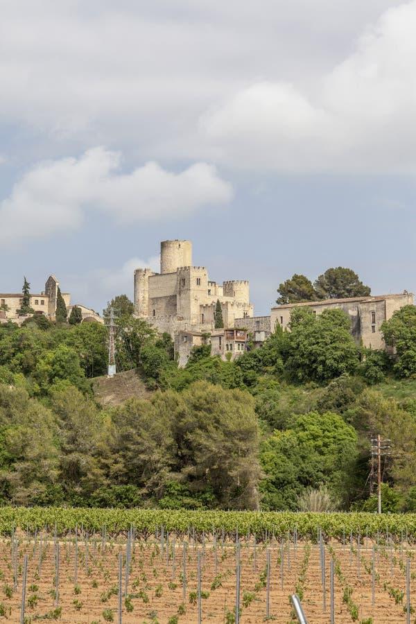 Castellet, Catalonia, Hiszpania obrazy stock