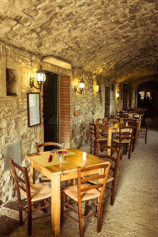 Castellina em Chianti imagens de stock
