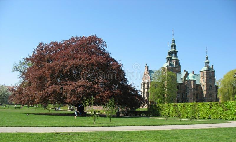 Castello 1 di Rosenborg fotografia stock libera da diritti