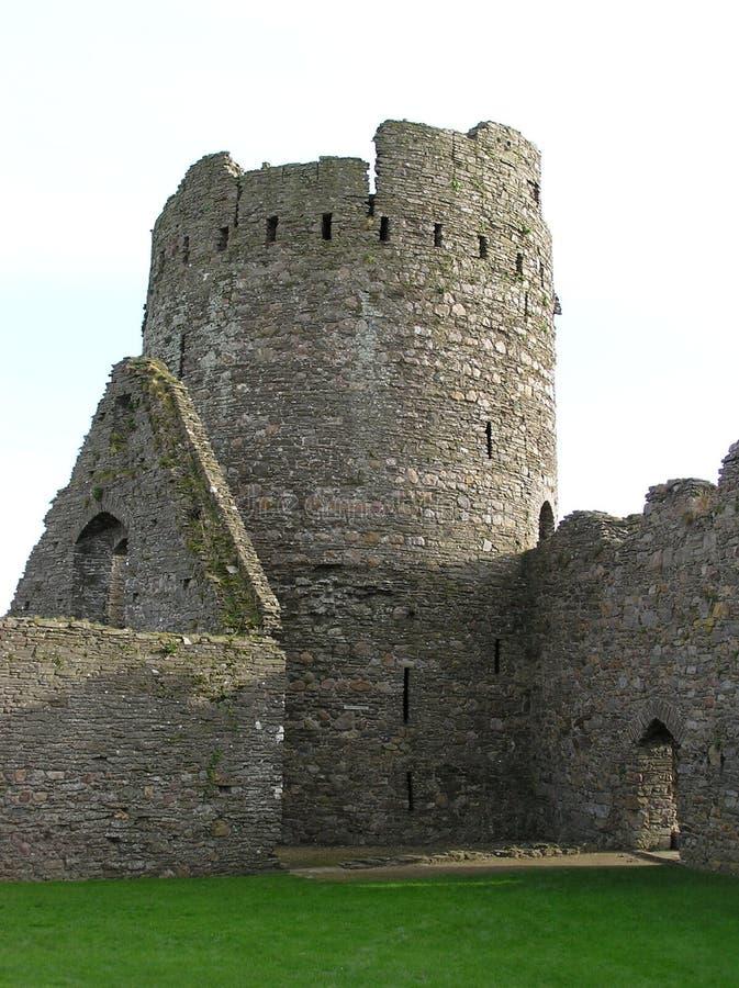 Download Castello 3 di Kidwelly immagine stock. Immagine di mystical - 218293
